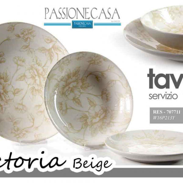 SERV.18 PZ PASSIONE CASA VICTORIA BEGIE