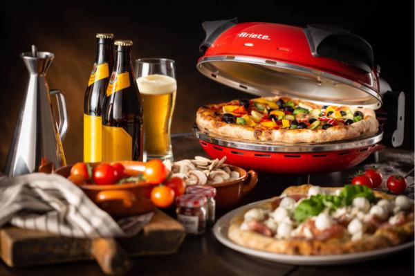Ariete Fornetto elettrico Pizza Pietra refrattaria 1200W 909 Pizza in 4 minuti 6