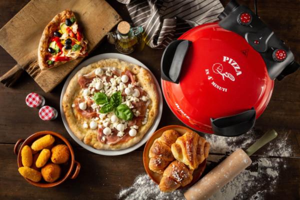 Ariete Fornetto elettrico Pizza Pietra refrattaria 1200W 909 Pizza in 4 minuti 8