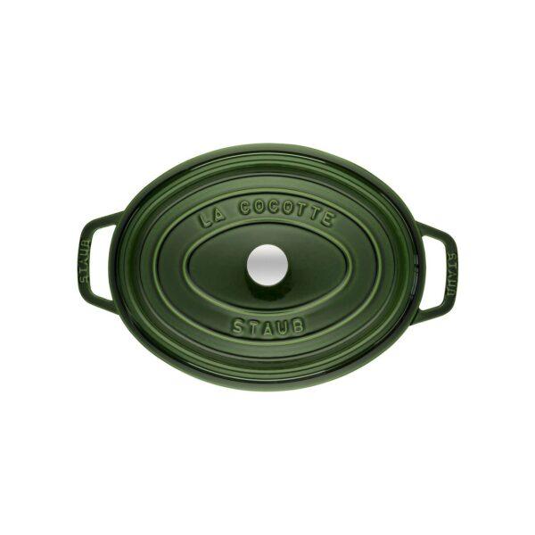STAUB Cocotte Basilico ovale 29cm1