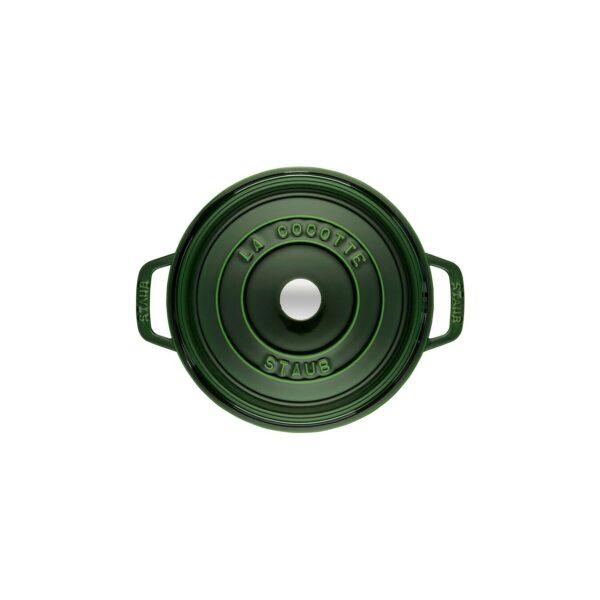 STAUB Cocotte Basilico rotondo in ghisa da 24 cm